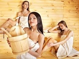 fínska sauna v Baseline Sport Arene