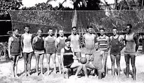 história plážového volejbalu